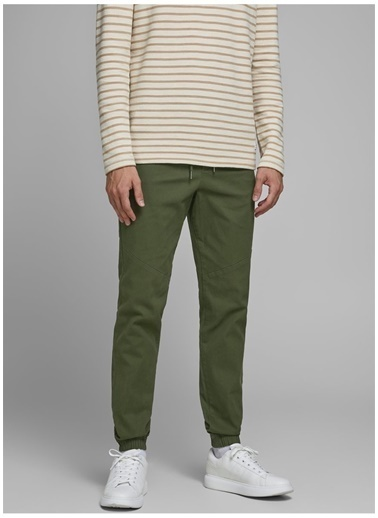 Jack & Jones Pantolon Haki